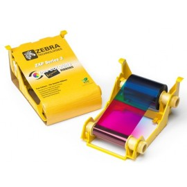 800033-340 Cartridge COLOR YMCKO. Para impresoras ZXP3 R2 Series