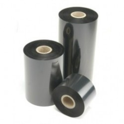 40mm x 300m RESINA Ribbon, color Negro. Caja con 12 ribbons