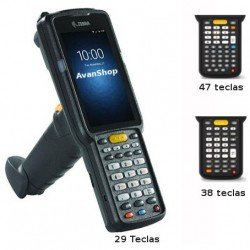 "MC330K-GE4HA3RW Zebra MC3300 Con Mango, Android, 4GB, Color WVGA 4"", IP54, WiFi, BT, NFC, Lector Long Range SE4850 2D"