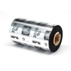 800132-102 56.9mm X 74m Ribbon MEZCLA ZEBRA 3200 WAX-RESIN, OUT Core 12,7mm. Ancho del Rollo 56,9mm. CAJA con 12 rollos