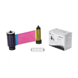 659499 Color YMCKO Ribbon Qualica-RDN y RD301. 250 impresiones